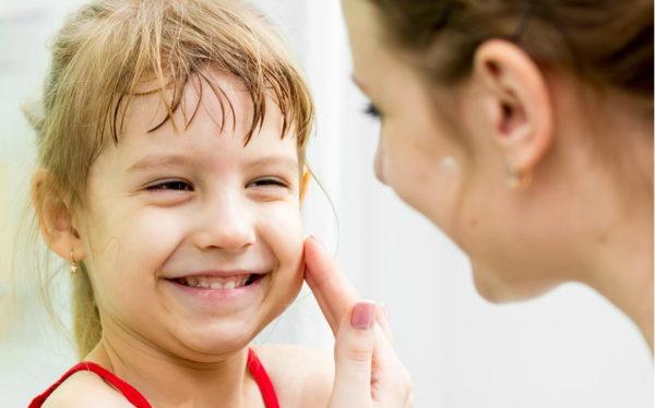 crema viso bambini pelle secca