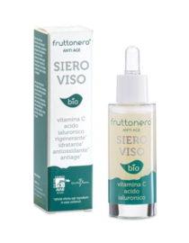siero viso con vitamina c e acido ialuronico fruttonero