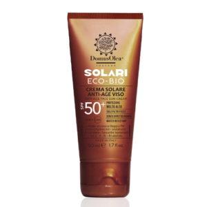 Crema solare anti-age viso SPF 50+ Domus Olea Toscana