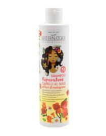 shampoo riparatore capelli al sole maternatura