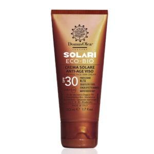 Crema solare anti-age viso SPF 30 Domus Olea Toscana