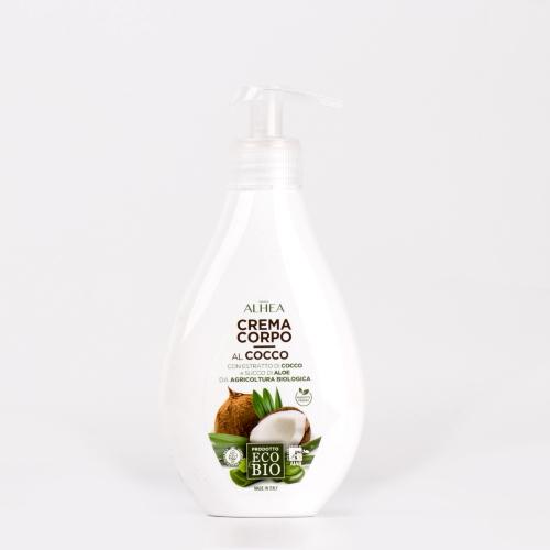 Crema corpo al Cocco Alhea