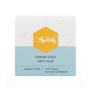 Crema viso anti-age con acqua termale e pappa reale Apitaly