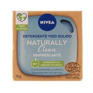 Detergente viso solido Nivea Naturally Clean – Rinfrescante