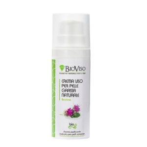 Crema viso pelle grassa naturale BioViso